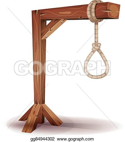Rope clipart gallows #2