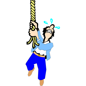 Rope clipart hanging #5