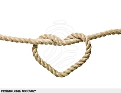 Rope clipart knotted rope #9