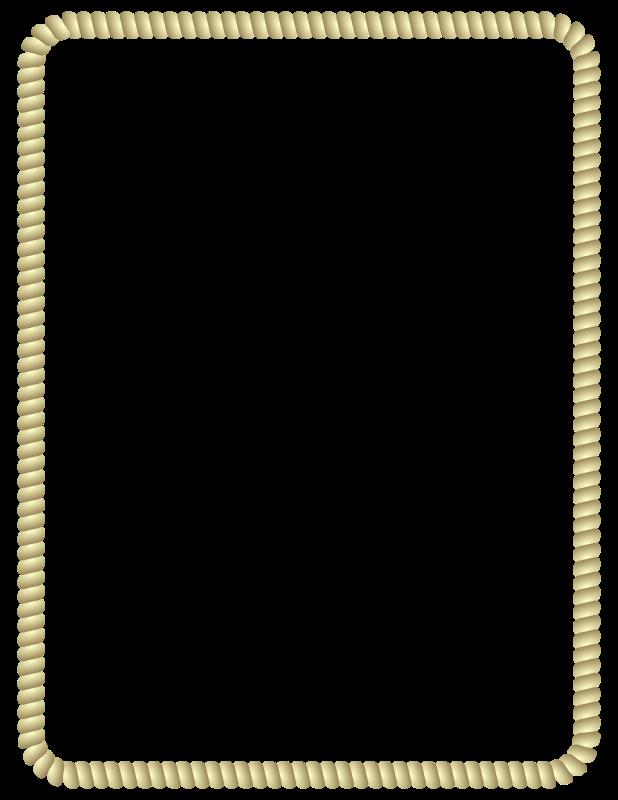 Rope clipart rectangular #7