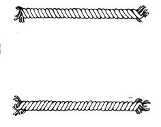 Rope clipart straight ribbon #1