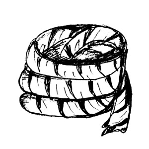 Rope clipart thick #3