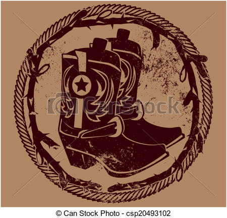 Rope clipart western theme #14