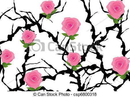 Rose Bush clipart artwork #9