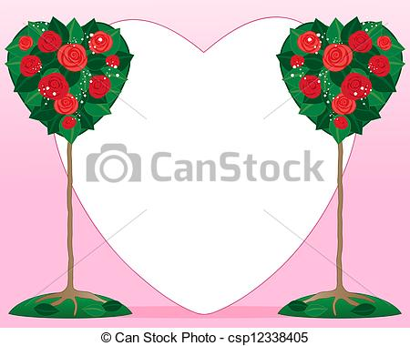 Rose Bush clipart red rose #12