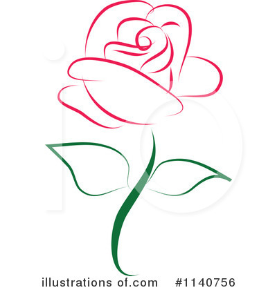 Rose clipart Illustration #1140756 Rose by Clipart