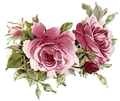 Rose clipart decal #4