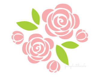 Rose clipart decal #13