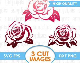 Rose clipart decal #11