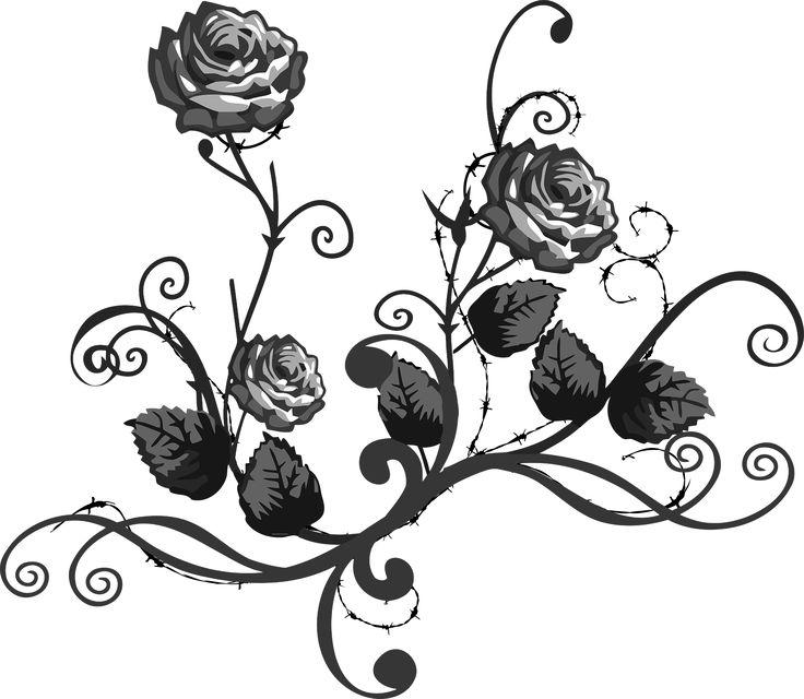 Rose clipart elegant flower #10