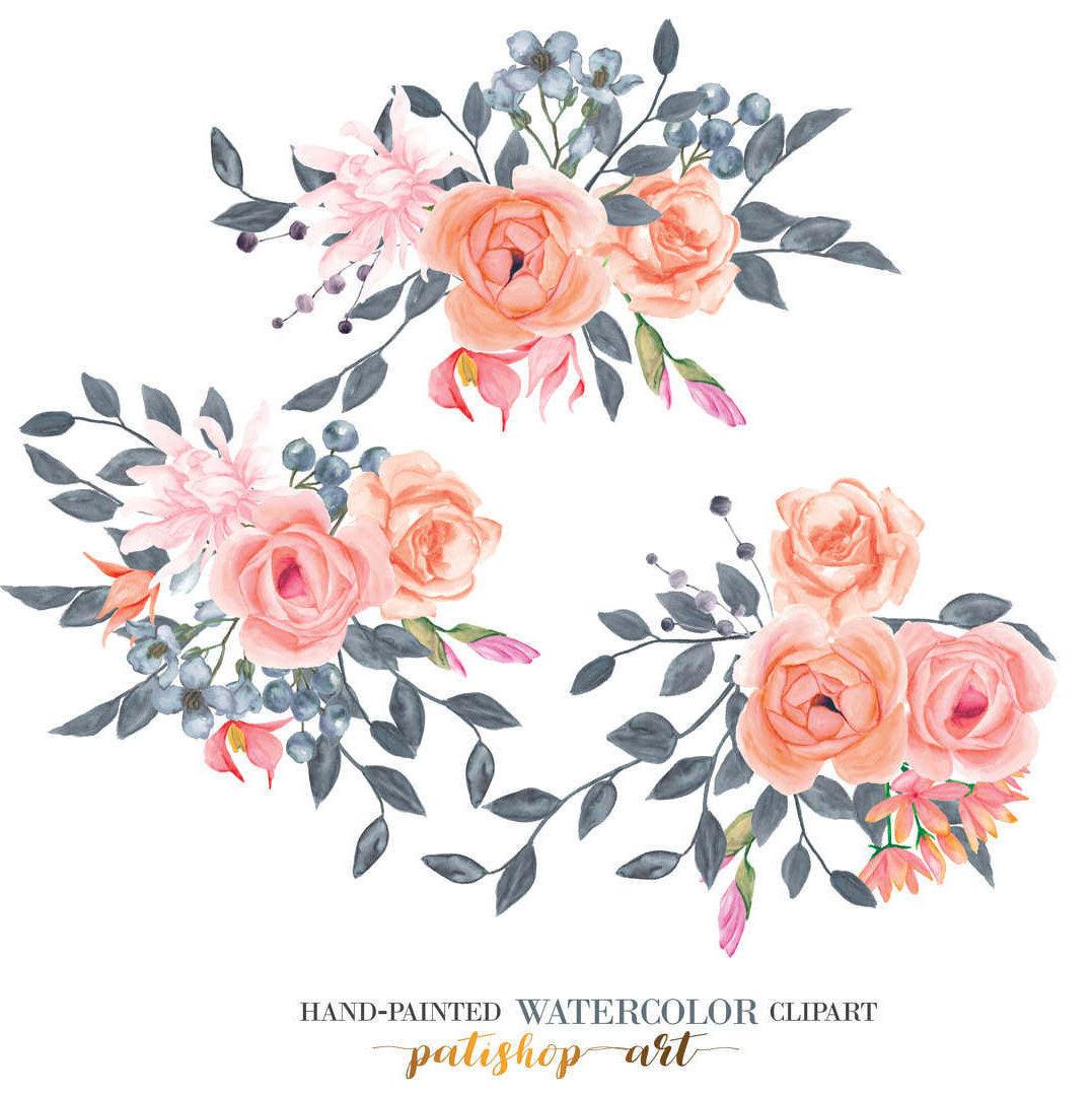 Rose clipart elegant flower #12