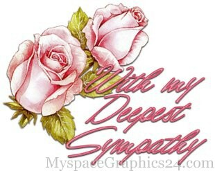 Rose clipart sympathy flower #14