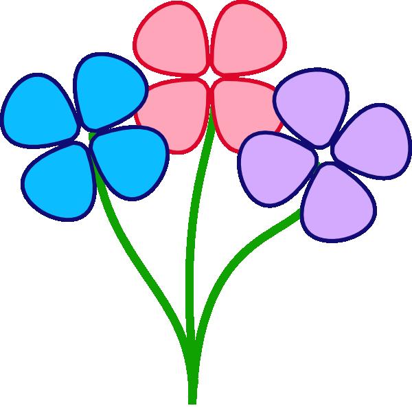 Petal clipart three Clip Clip Roses Art –
