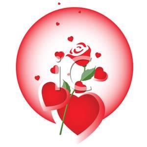 Rose clipart valentine rose #13
