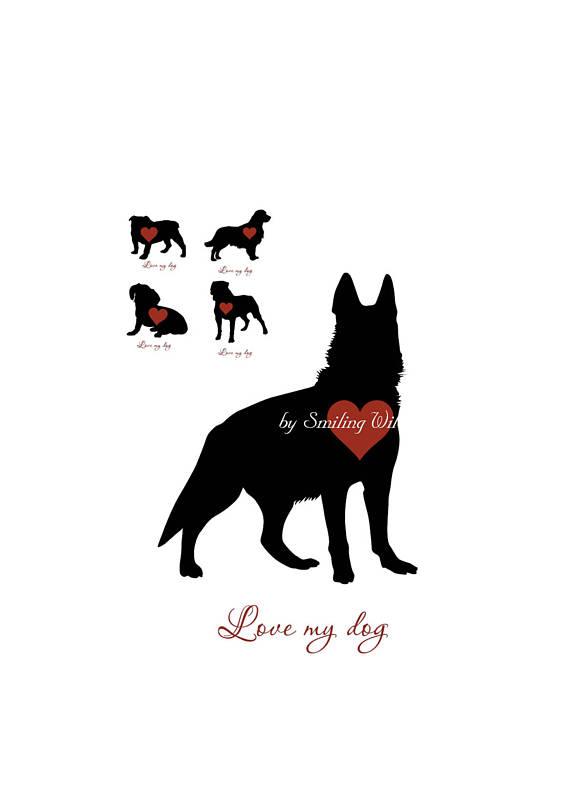 Rottweiler clipart german #8