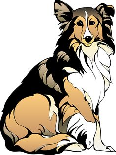 Rough Collie clipart DogFree Do Rough Probably Collie