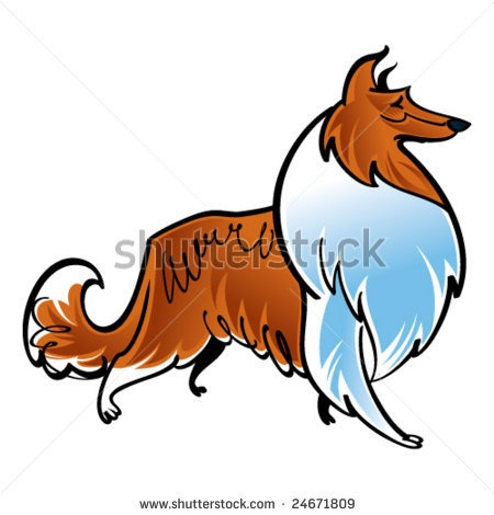 Rough Collie clipart Collie about on images Rough