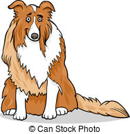 Rough Collie clipart animated #9