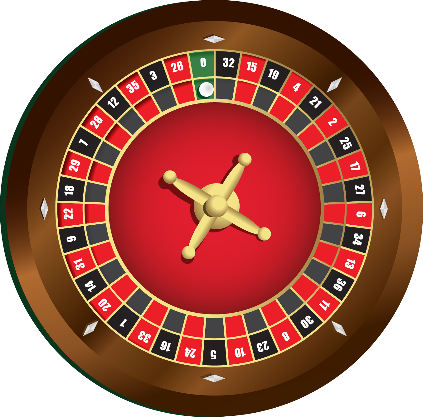 Roulette Wheel clipart french roulette #11