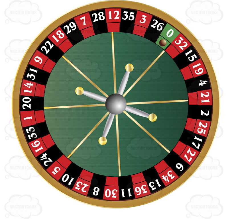 Roulette Wheel clipart #8