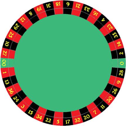 Roulette Wheel clipart american roulette #13