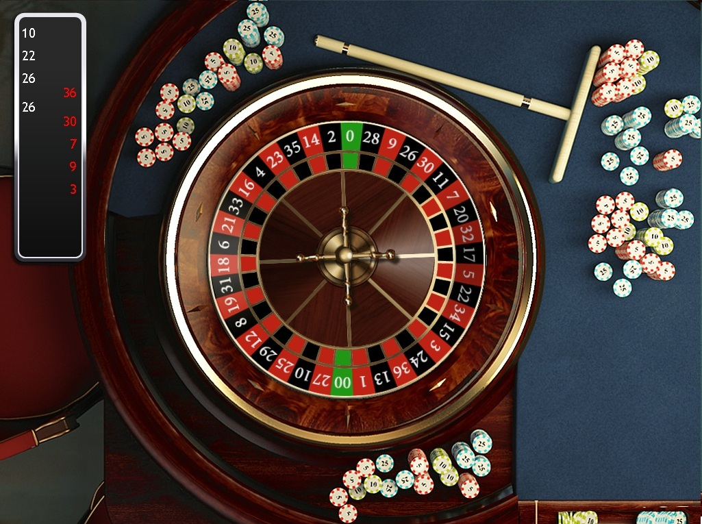 Roulette Wheel clipart double zero #14