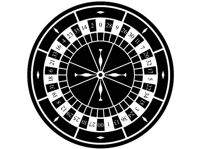 Roulette Wheel clipart printable #12