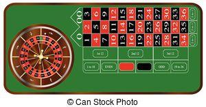 Roulette Wheel clipart standard Table Roulette of Illustration European