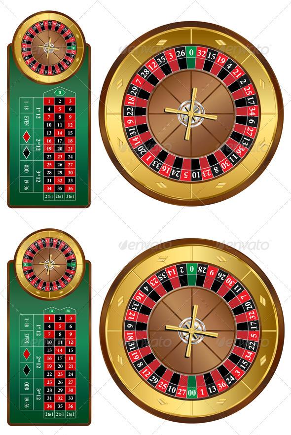 Roulette Wheel clipart table #4