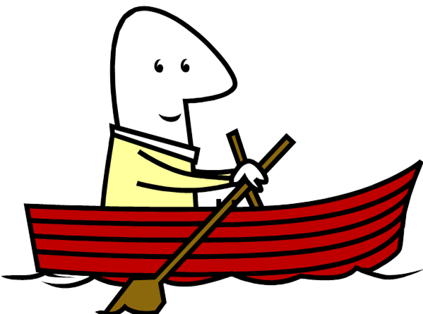 Row Boat clipart background 7816 Clipart Boat ~ Row