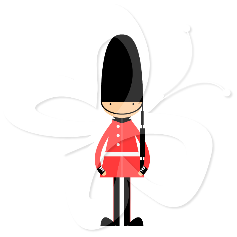 Royal Guards clipart queen england Set Queens Palace Clipart Queens