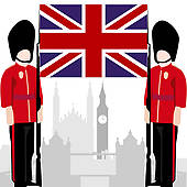 Soldiers clipart england Art GoGraph Royal Walking royal