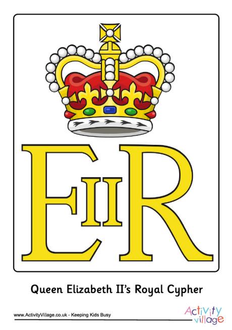 Royal Guards clipart queen england II Queen II Royal Cypher