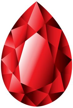 Gems clipart ruby Collage DECOUPAGE mixed Diamond Blue