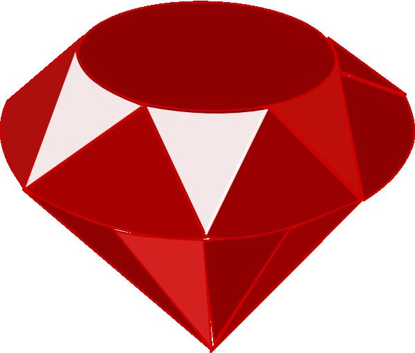 Ruby clipart diamond #7
