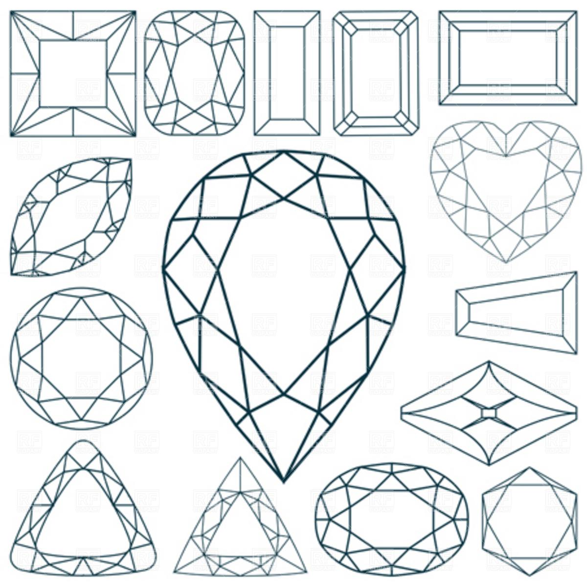 Ruby clipart diamond #14