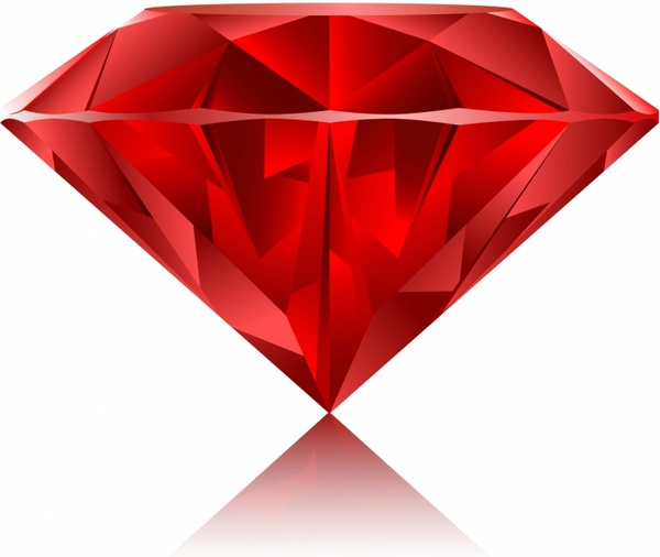 Diamond clipart ruby stone Gem use vector Free download