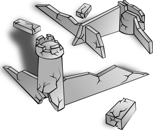 Ruin clipart Clip Clip free Ruins art
