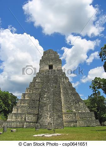 Ruin clipart mayan temple #9