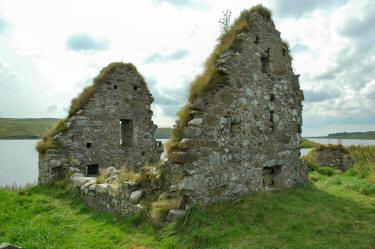 Ruin clipart building collapse The ruin an Scotland house