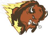 Running Buffalo Clipart African Thunder Buffalo Silhouette ·