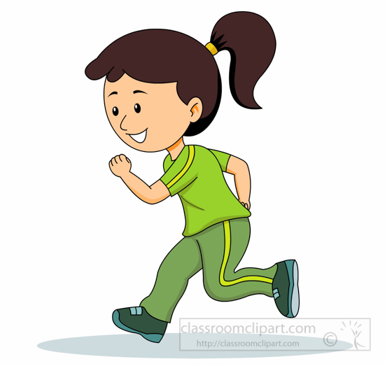 Running clipart Graphics Jogging  Pictures Jogging
