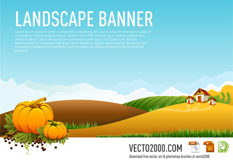 Rural clipart agriculture farming Banner Download Clipart Banner Rural