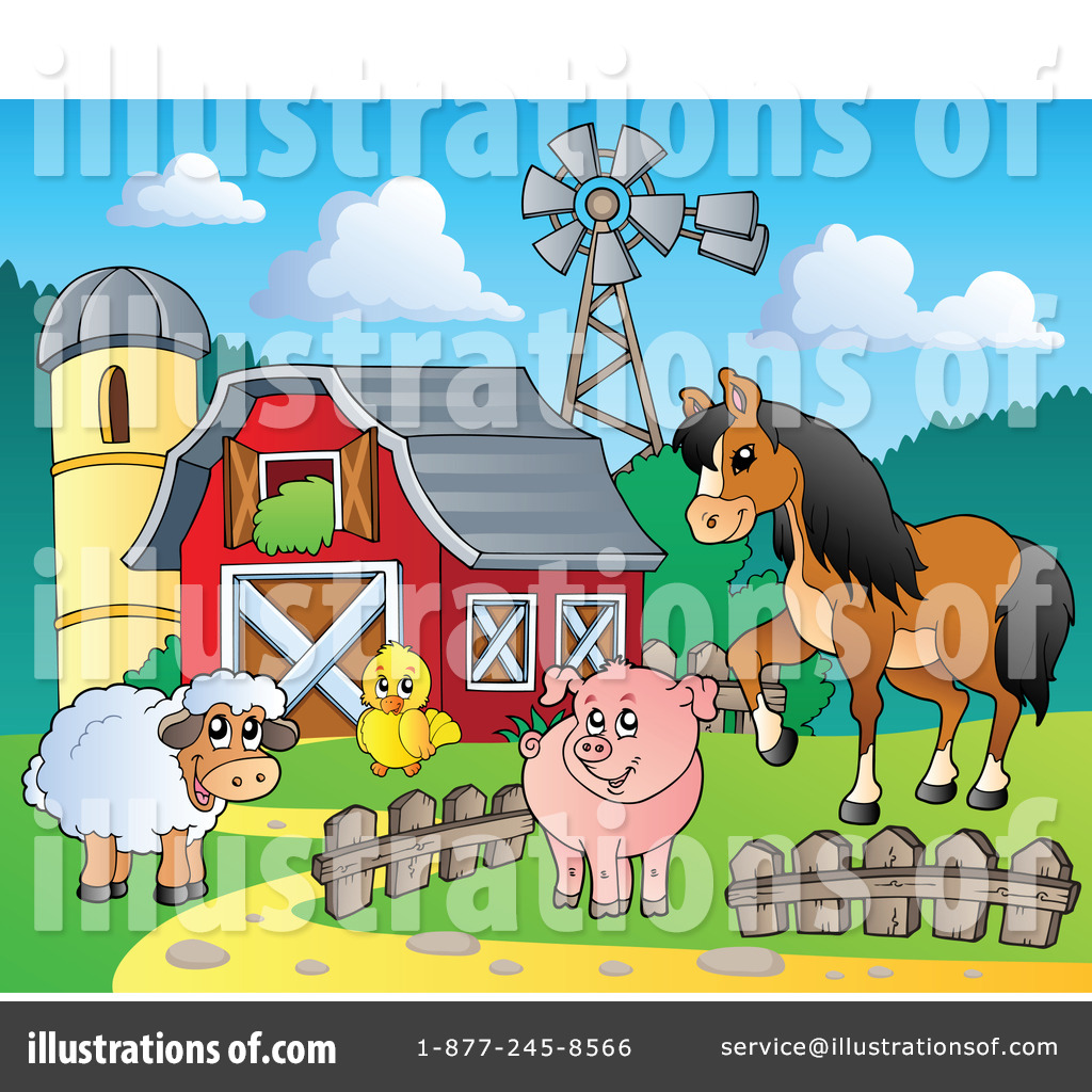 Rural clipart agriculture farming #1100738 Illustration Royalty Agriculture visekart