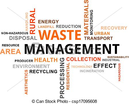 Rural clipart industrial waste A Clipart word  Vector