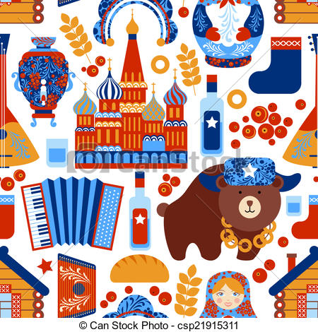 Russia clipart Russia russian Vector travel travel