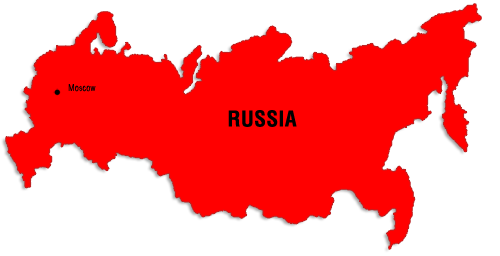Russia clipart Russia Map Clipart #4