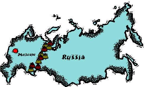 Russia clipart Russia Map Clipart #12