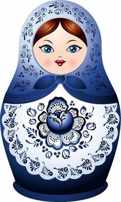 Russia clipart Russian Doll Clipart #12