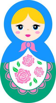 Russia clipart Russian Doll Clipart #15